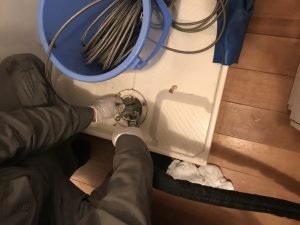 排水管洗浄洗濯ダスト