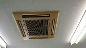 天井型エアコン洗浄