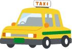 イラスト:タクシー