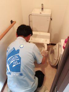 久留米市でトイレ清掃