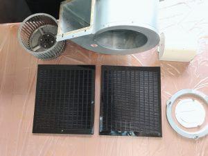 久留米市で換気扇洗浄