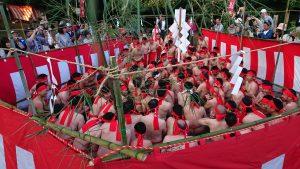 久留米市御井町へこかき祭