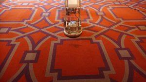 久留米市結婚式場カーペット洗浄