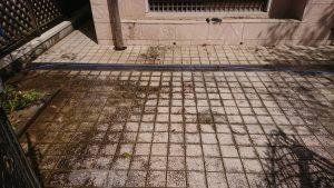 久留米市玄関ポーチ清掃