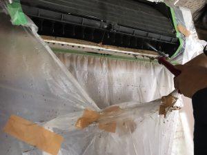鳥栖市会社エアコン洗浄