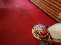 久留米市喫茶店じゅうたん機械洗浄