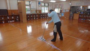 広川町学童保育所清掃