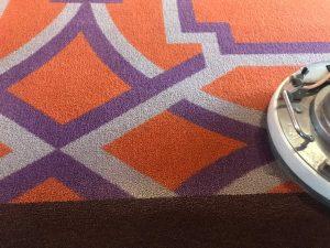 久留米市結婚式場じゅうたん床機械洗浄