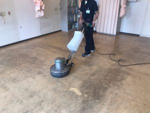 久留米市病院床洗浄WAX