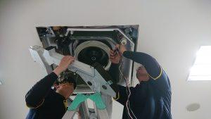 久留米市整形外科医院エアコン洗浄