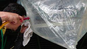 武雄市病院エアコン換気扇洗浄