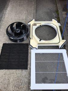 福岡市天井型エアコン洗浄