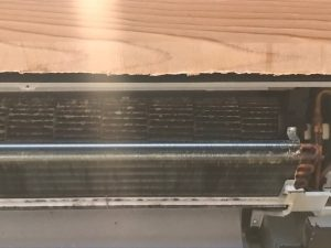 朝倉市旅館天井型エアコン洗浄