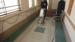 福岡市施設じゅうたん床洗浄